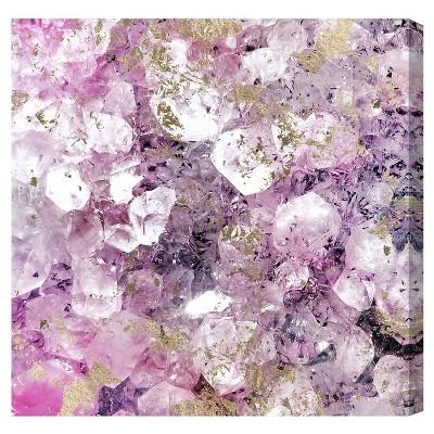 Oliver Gal Unframed Wall  Crystal Romance  Canvas Art (36x36)