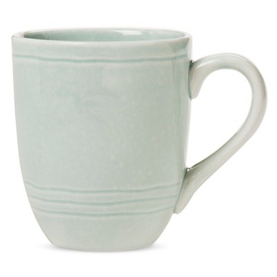 Aqua Reactive Mug 14oz Stoneware Set of 4 - Threshold™