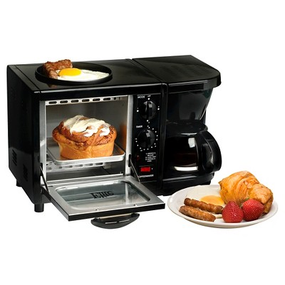 Elite Cuisine Multi-function Toaster Oven - Black