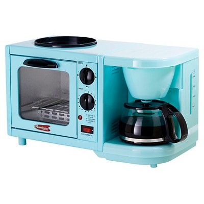 Americana by Elite Multi-function Toaster Oven - Bistro Blue