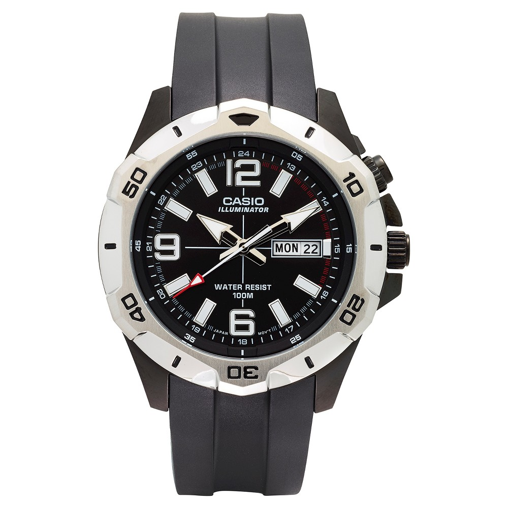 Casio Mens Dive Style Analog Watch - Black Dial (MTD1082-1AVCF)