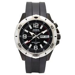 Casio Men's Dive Style Analog Watch - Black Dial (MTD1082-1AVCF)