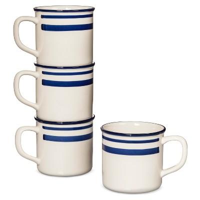 Beekman 1802 FH® Freemont Dinnerware 4pc Mugs 16oz White