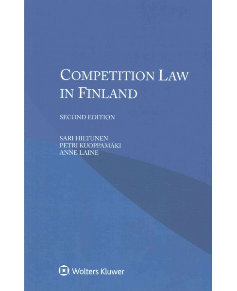 Competition Law in Finland (Paperback) (Sari Hiltunen) - image 1 of 1
