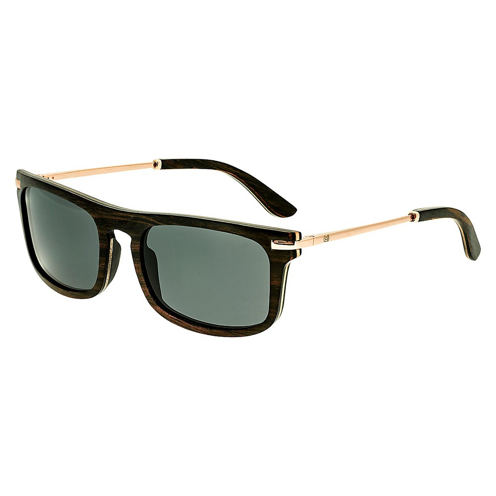 Earth Wood Queensland Unisex Sunglasses - Beige, Brown