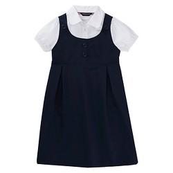 French Toast Girls' Double Pocket Dress