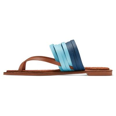 Women's Jams World Ono Multi Strap Thong Sandals - Blue 6