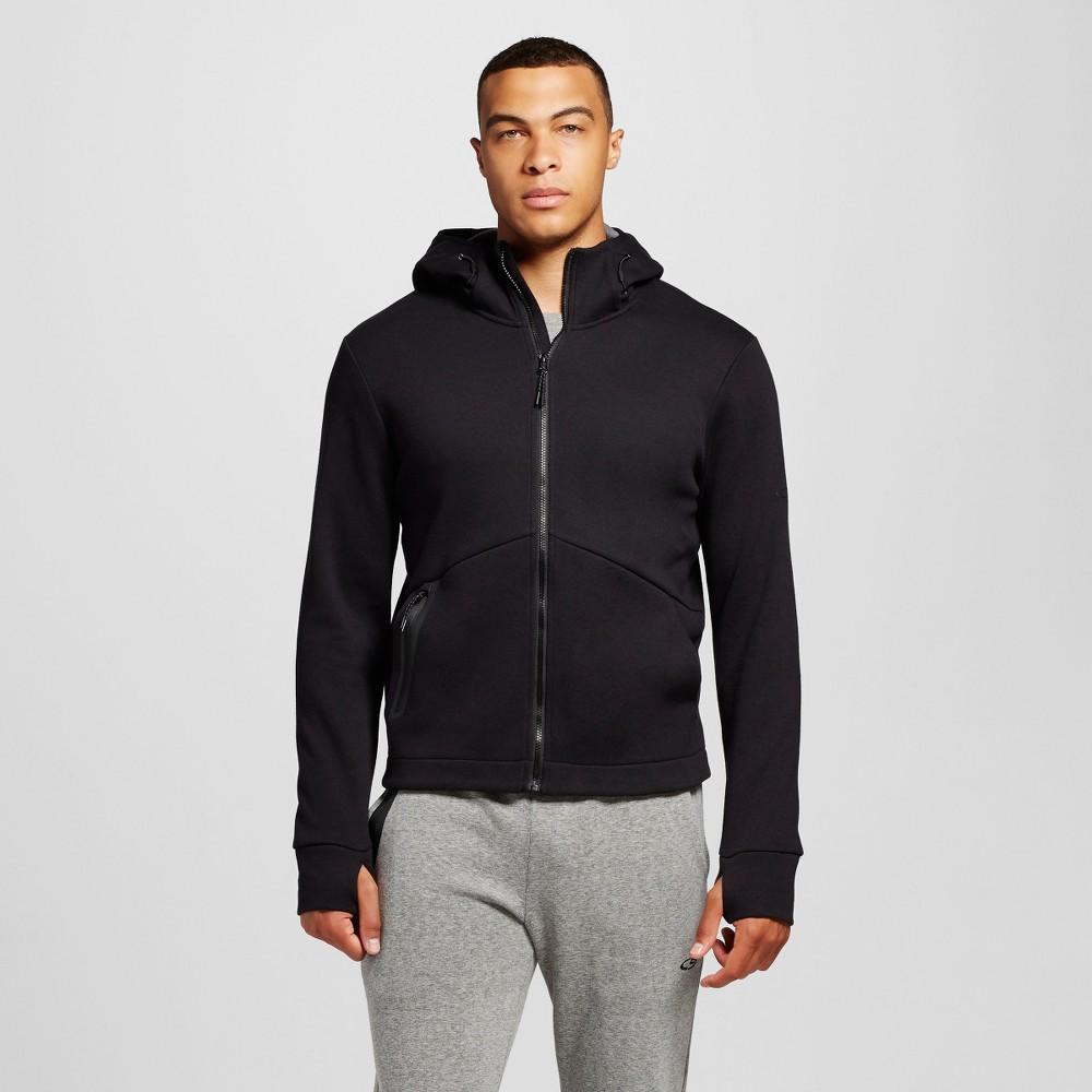 Mens Full Zip Hoodie - C9 Champion Black L
