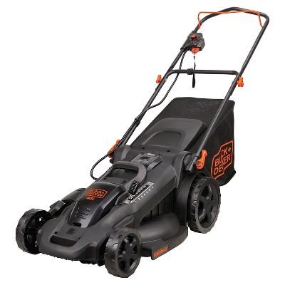 BLACK+DECKER™ 20  40V MAX* Lithium 3-in-1 Lawn Mower with (2)2.0 Ah Batteries - Black