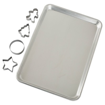 Nordic Ware Cookie Sheet Set with Cutters