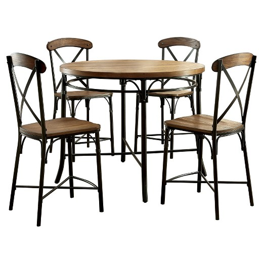 ioHomes 5pc Industrial Round Counter Height Table Set  : 51089930wid520amphei520ampfmtpjpeg from www.target.com size 520 x 520 jpeg 50kB