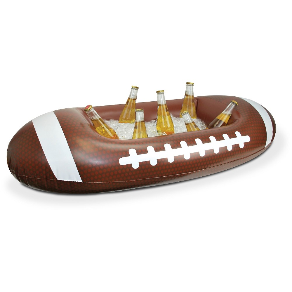 BigMouth The Football Inflatable Cooler, Multi-Colored