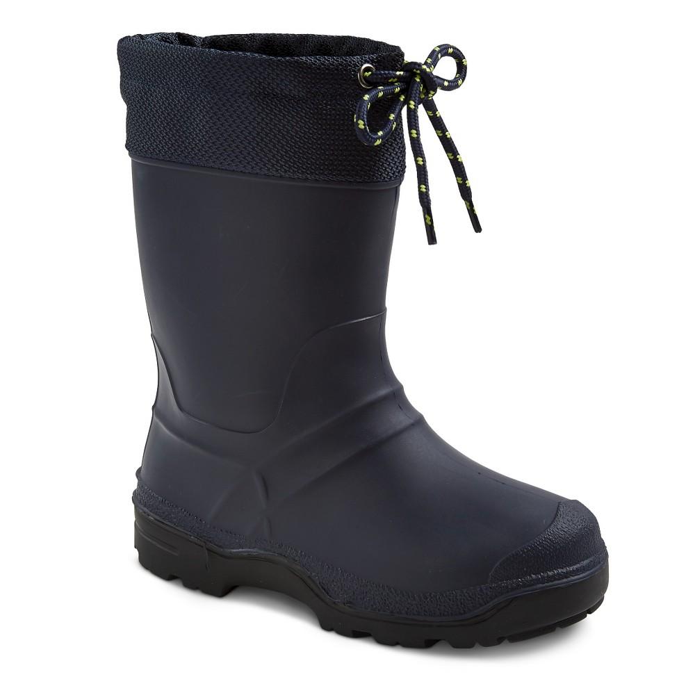 Boys SnowMaster Icestorm Winter Boots - Navy (Blue) 3