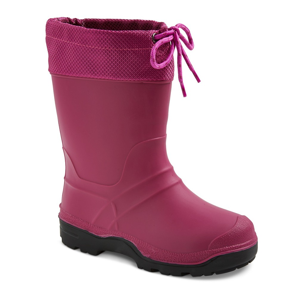 Girls SnowMaster Icestorm Winter Boots - Berry 4, Pink