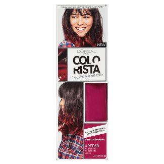 LOréal® Paris Colorista Semi-Permanent For Brunette Hair #Red 1 kit