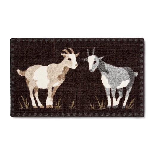 Brown Goats Kitchen Rug (20\