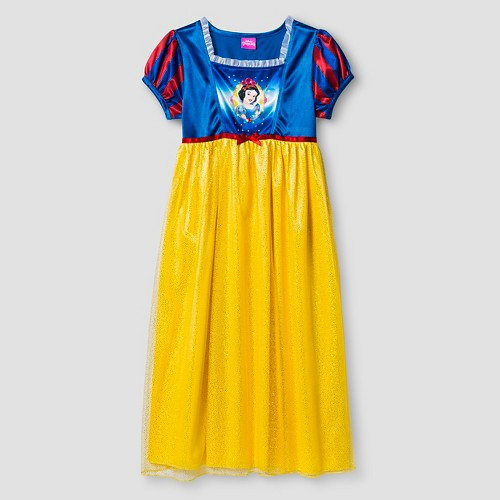 Girls' Disney Princess Snow White Nightgown - Multi-Colored 4, Girl's, Multicolored