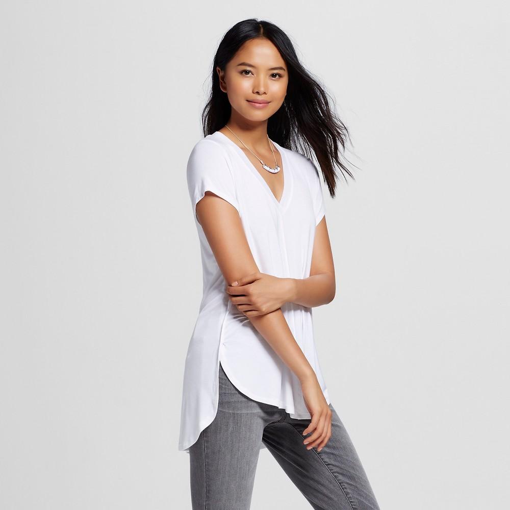 Women's Center Seam T-Shirt - Mossimo White Xxl