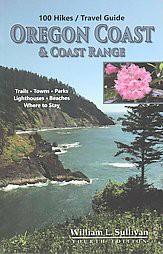 100 Hikes / Travel Guide Oregon Coast & Coast Range (Paperback)(William L. Sullivan)