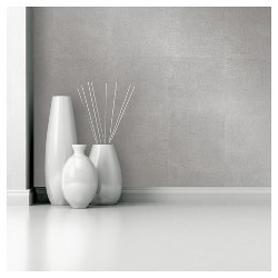 Devine Color Metallic Leaf Peel and Stick Wallpaper - Sterling