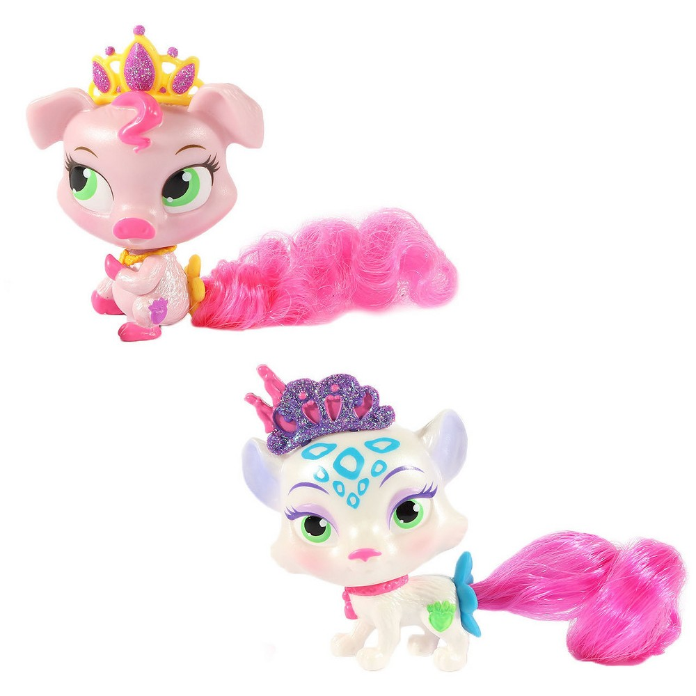 Disney Princess Palace Pets - Furry Tail Friends - Truffles and Snowpaws 2 Pack Bundle