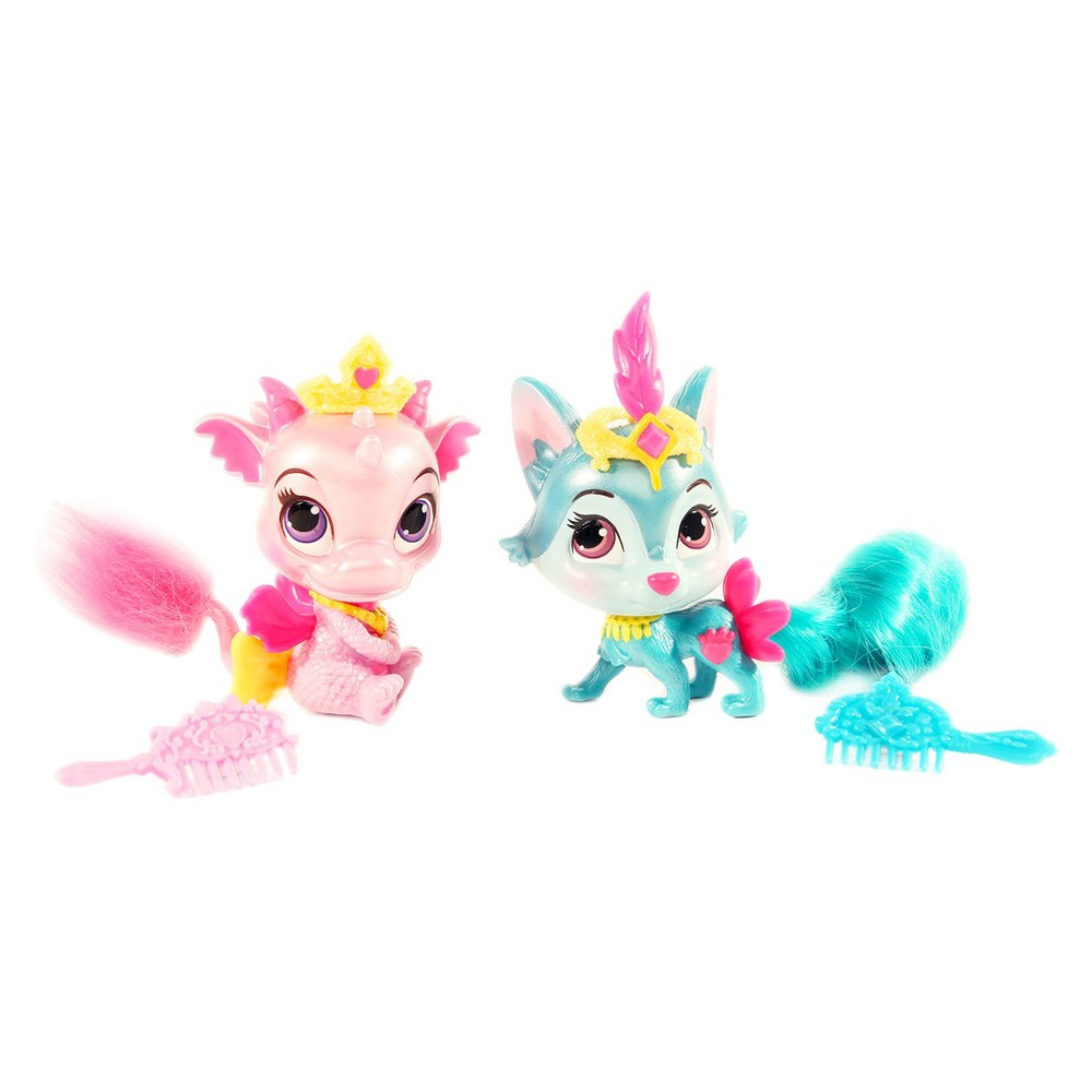 Disney Princess Palace Pets - Furry Tail Friends - Ash and River 2 Pack Bundle