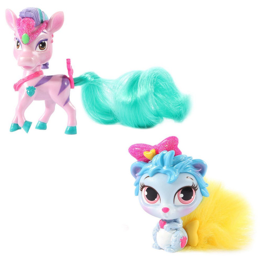 Disney Princess Palace Pets - Furry Tail Friends - Thistleblossom and Stripes 2 Pack Bundle