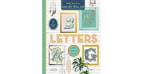 Gallery Wall Art Letters (Paperback) - image 1 of 1