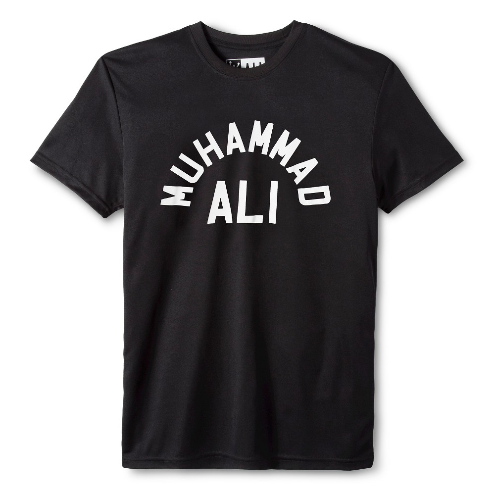 Mens Ali performance tee Black L