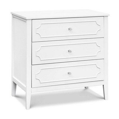 DaVinci Poppy Regency 3-Drawer Dresser Changer - White
