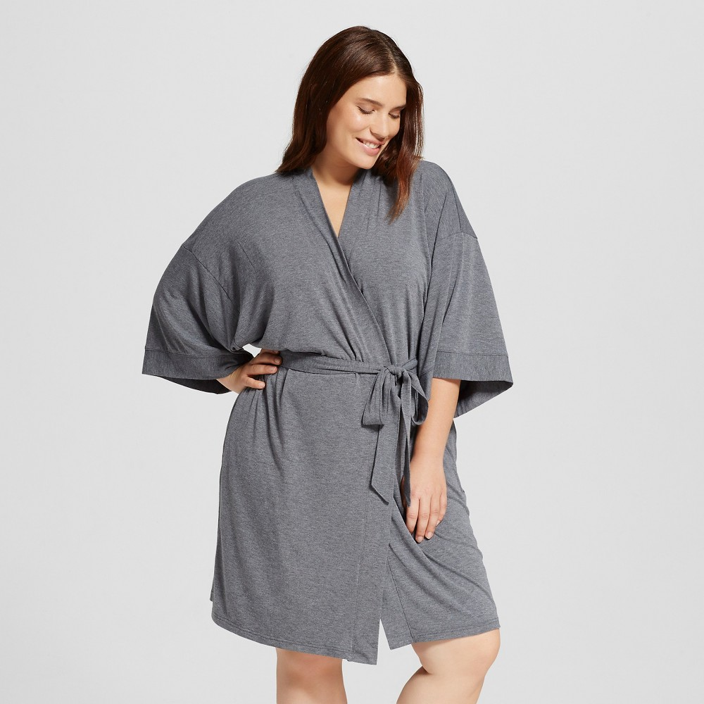 Womens Robes - Shaded Blue 1X