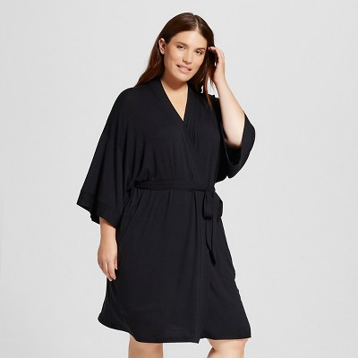 Women's Robes - Gilligan & O'Malley™ - Black 1X