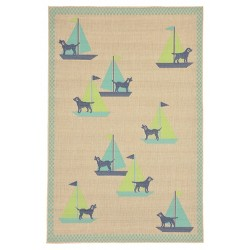 Playa Sailing Dogs Cool Rug - Liora Manne