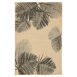 Terrace Palm Neutral Rug - Liora Manne