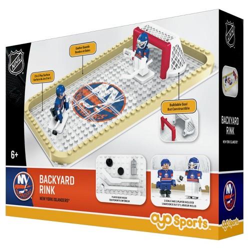 NHL Backyard Rink Toy Hockey Set - New York Islanders