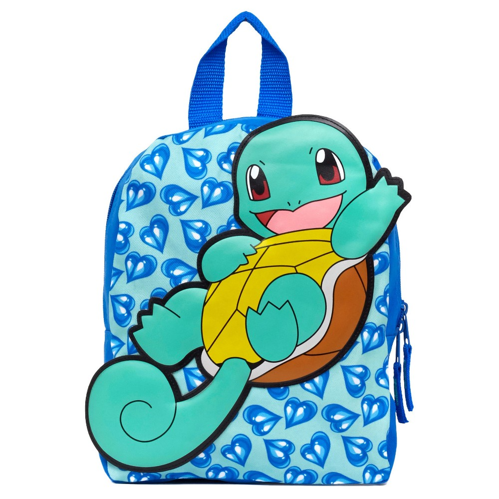 Kids Pokemon 12 Mini Backpack - Squirtle, Aquarium Blue
