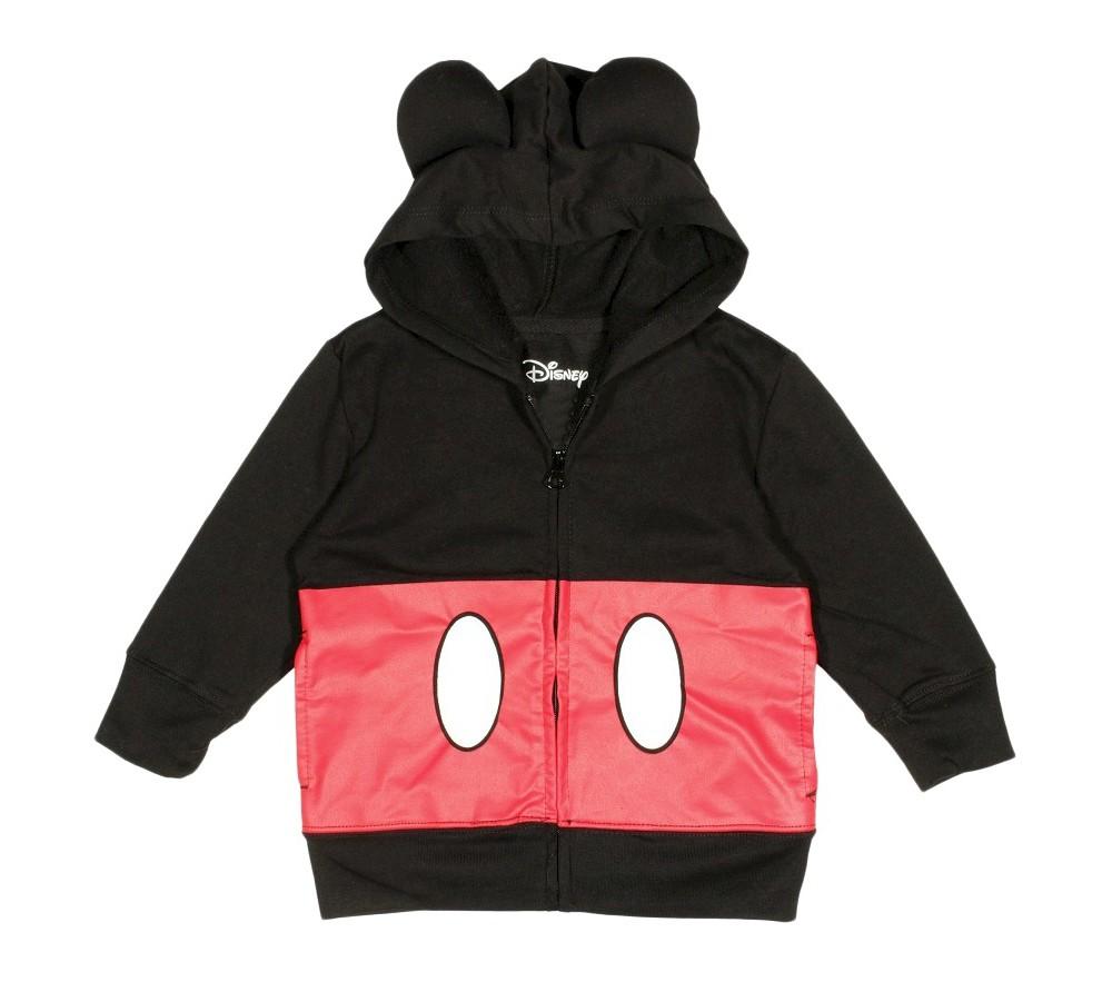 Boys' Disney Mickey Mouse Sweatshirt - Black/Red S
