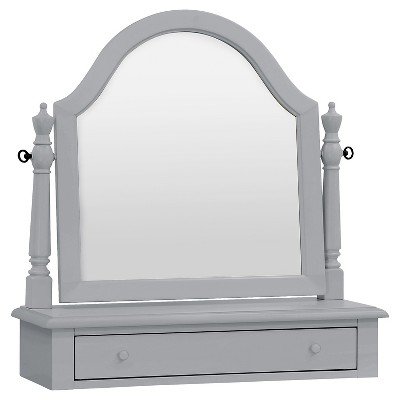 Million Dollar Baby Classic Sullivan Vanity Mirror - Gray