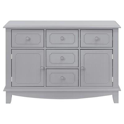 Million Dollar Baby Classic Sullivan Double-Wide Dresser - Gray