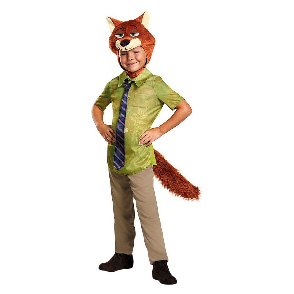 Zootopia Boys Nick Wilde Costume - 3-4T, Size: 3T-4T, Multi-Colored