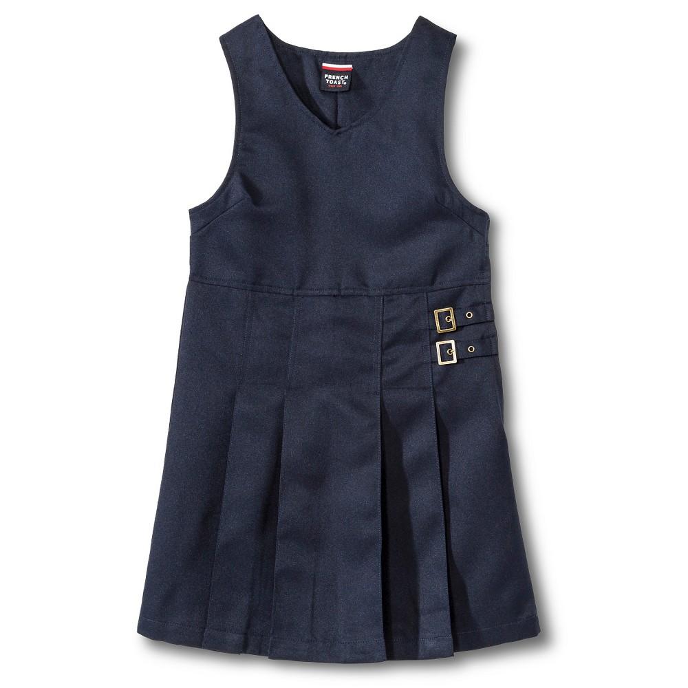 French Toast Girls Buckle Tab Jumper - Navy (Blue) 20