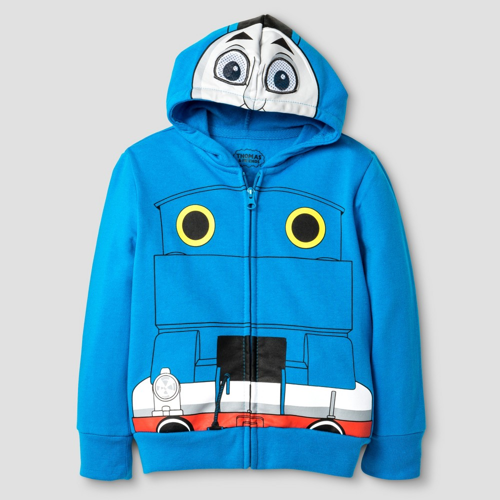 Thomas the Train Toddler Boys Costume Hoodie 2T - Blue