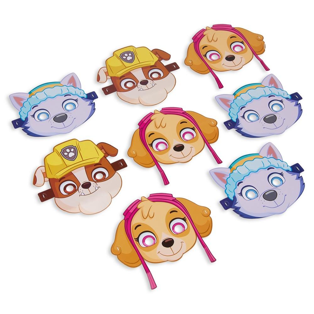 8 ct Paw Patrol Girl Masks