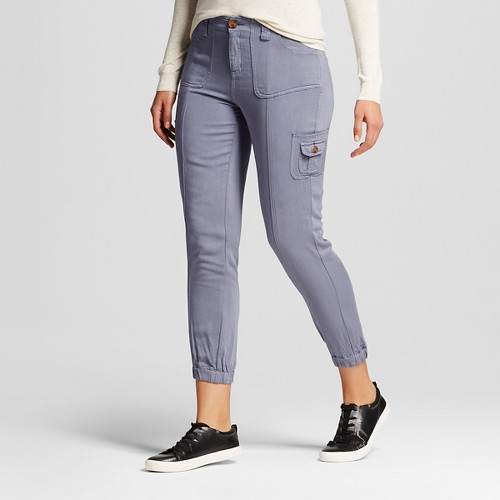 Women's Cargo Pants Blue M - Knox Rose