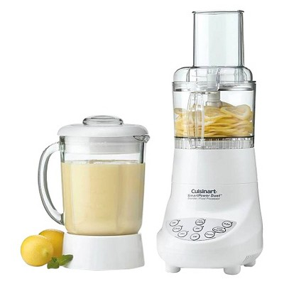 Cuisinart® Refurbished Duet Blender & Food Processor - White BFP-703FR