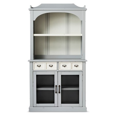 Westville Fully Assembled Distressed Buffet with Hutch - Beekman 1802 FarmHouse™