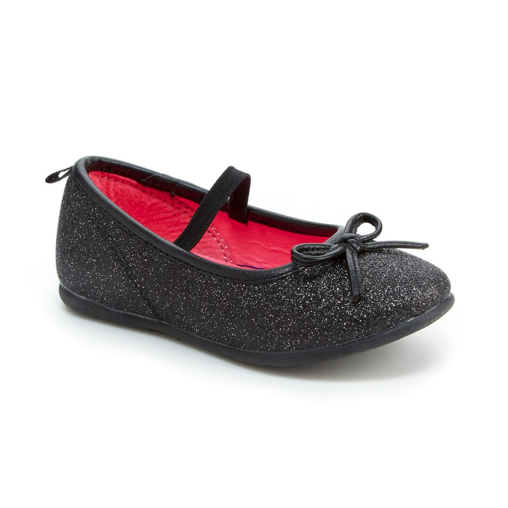 Toddler Girls Sierra Ballet Flats - Just One You Made by Carters Black 9
