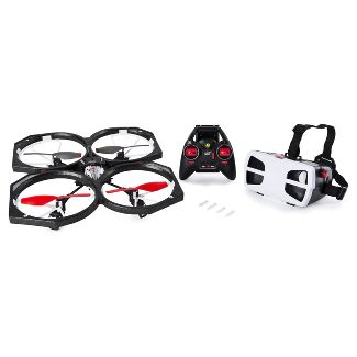 Air Hogs Helix Sentinel First Person View (FPV) HD 720p Video Drone with 4GB Micro SD Card - WiFi Capable