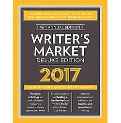 Writer's Market 2017 (Deluxe) (Paperback)