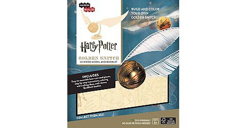 Incredibuilds Harry Potter Golden Snitch ( Incredibuilds) (Mixed media product) - image 1 of 1